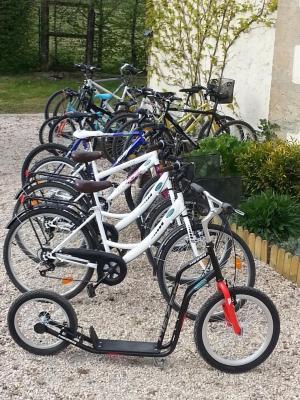 sur place, location de vélos © BM